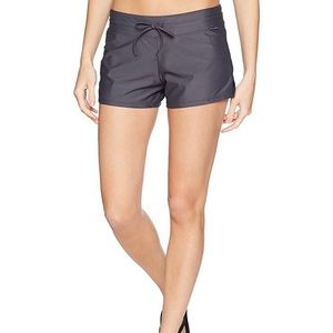 ZeroXposur NWT lined swim shorts grey size S or OX